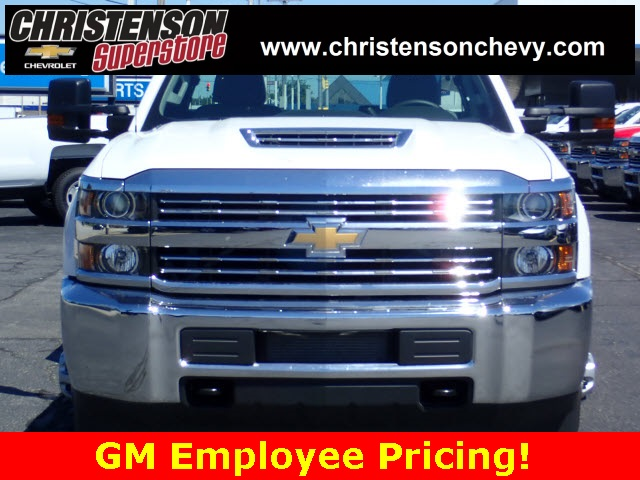 2018 Silverado 3500 Regular Cab DRW 4x4,  Monroe Service Body #81240 - photo 3