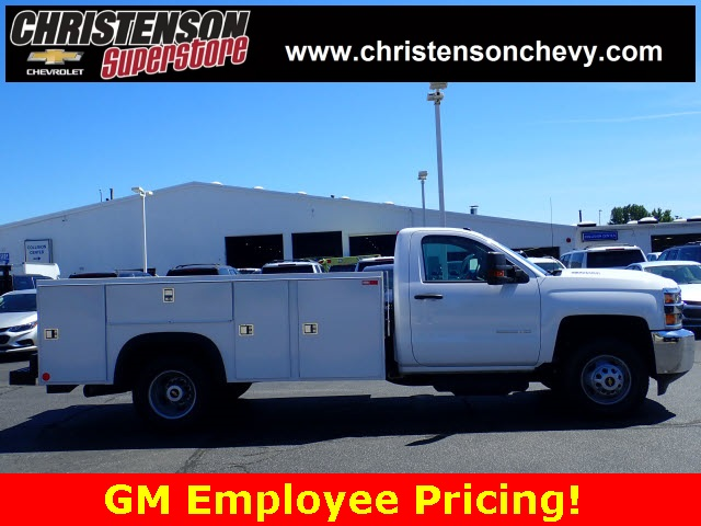 2018 Silverado 3500 Regular Cab DRW 4x4,  Monroe Service Body #81240 - photo 4