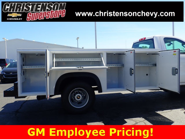 2018 Silverado 3500 Regular Cab DRW 4x4,  Monroe Service Body #81240 - photo 5