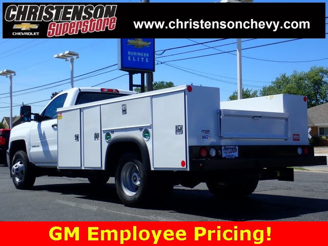 2018 Silverado 3500 Regular Cab DRW 4x4,  Monroe Service Body #81240 - photo 2