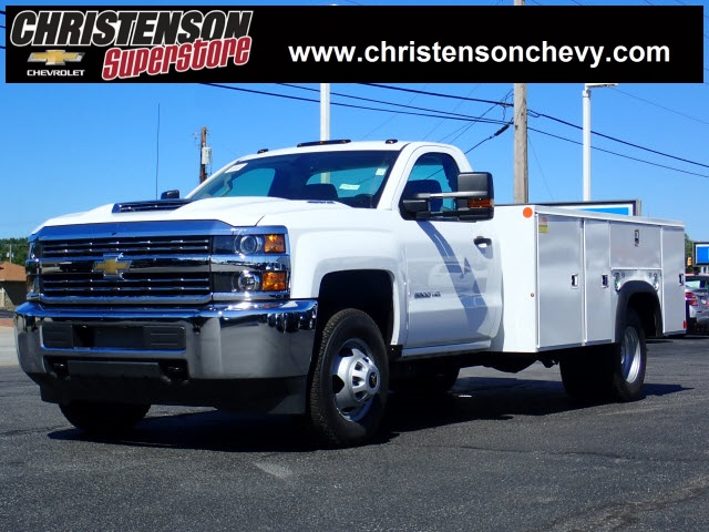 2018 Silverado 3500 Regular Cab DRW 4x4,  Monroe MSS II Service Body #81241 - photo 1