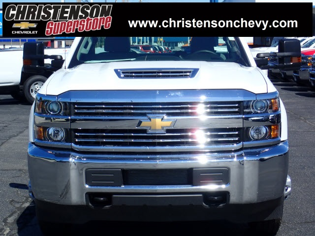 2018 Silverado 3500 Regular Cab DRW 4x4,  Monroe MSS II Service Body #81241 - photo 3