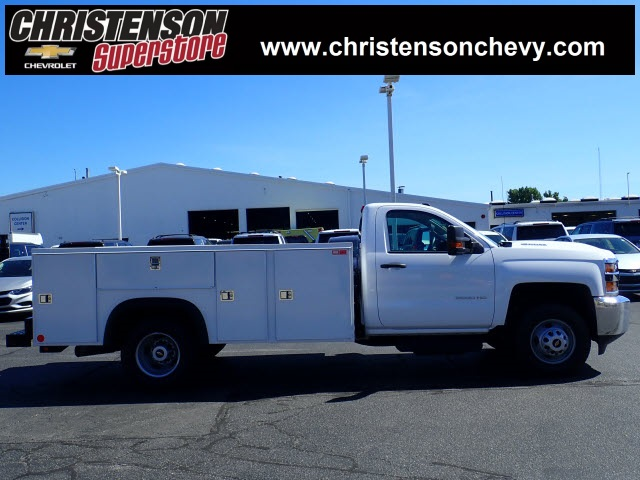 2018 Silverado 3500 Regular Cab DRW 4x4,  Monroe Service Body #81241 - photo 4