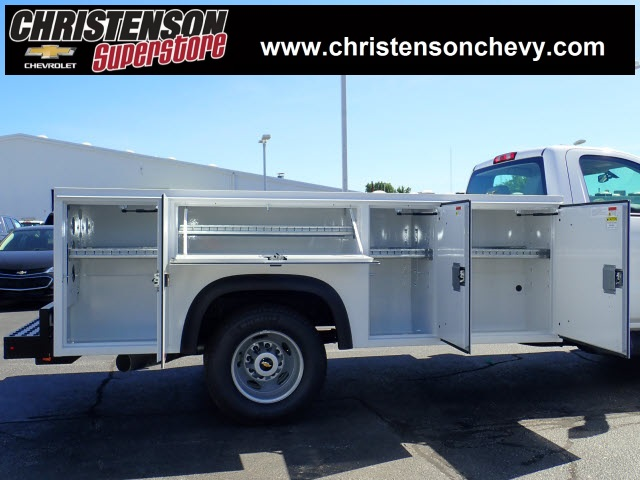 2018 Silverado 3500 Regular Cab DRW 4x4,  Monroe Service Body #81241 - photo 5