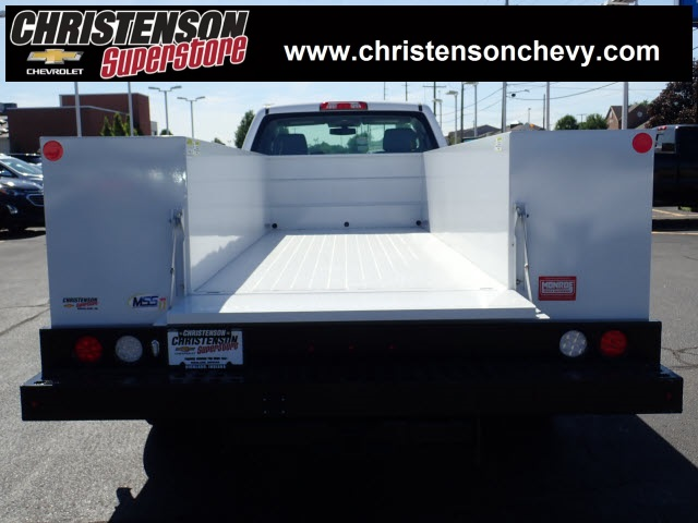 2018 Silverado 3500 Regular Cab DRW 4x4,  Monroe Service Body #81241 - photo 6