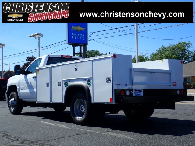 2018 Silverado 3500 Regular Cab DRW 4x4,  Monroe MSS II Service Body #81241 - photo 2