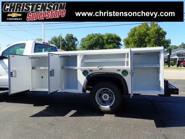 2018 Silverado 3500 Regular Cab DRW 4x4,  Monroe MSS II Service Body #81241 - photo 7