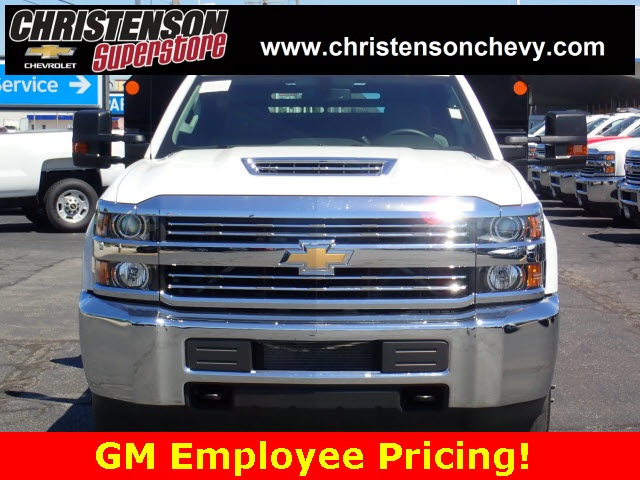 2018 Silverado 3500 Regular Cab DRW 4x4,  Monroe Dump Body #81267 - photo 3