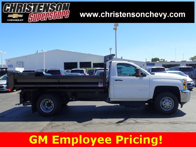 2018 Silverado 3500 Regular Cab DRW 4x4,  Monroe Dump Body #81267 - photo 4