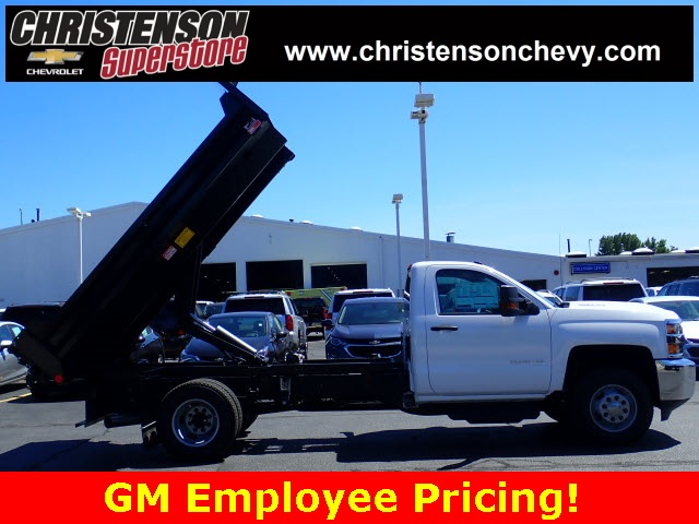 2018 Silverado 3500 Regular Cab DRW 4x4,  Monroe Dump Body #81267 - photo 5