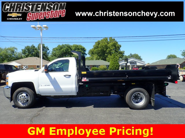 2018 Silverado 3500 Regular Cab DRW 4x4,  Monroe Dump Body #81267 - photo 7