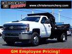 2018 Silverado 3500 Regular Cab DRW 4x4,  Monroe Dump Body #81267 - photo 1