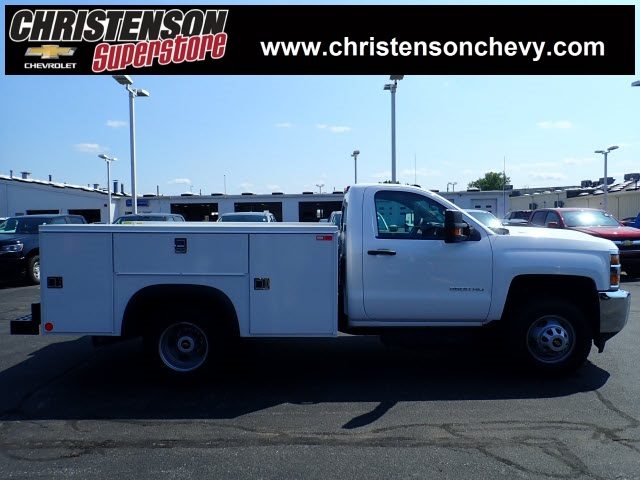 2018 Silverado 3500 Regular Cab DRW 4x4,  Monroe Service Body #81300 - photo 3