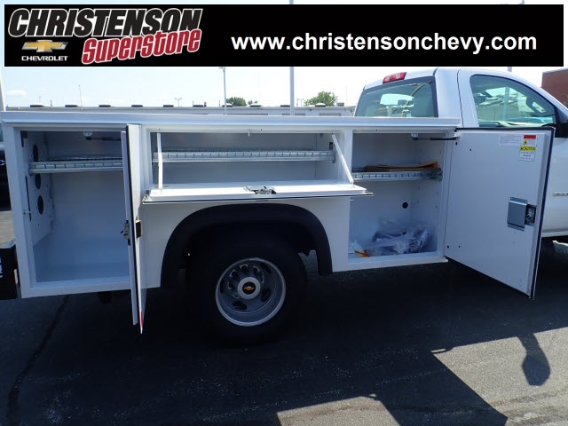 2018 Silverado 3500 Regular Cab DRW 4x4,  Monroe Service Body #81300 - photo 5