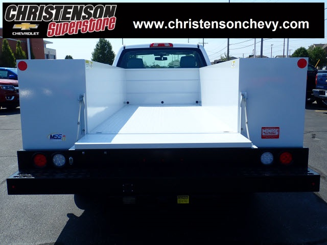 2018 Silverado 3500 Regular Cab DRW 4x4,  Monroe Service Body #81300 - photo 6
