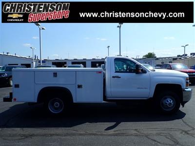2018 Silverado 3500 Regular Cab DRW 4x4,  Monroe MSS II Service Body #81300 - photo 3