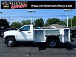 2018 Silverado 3500 Regular Cab DRW 4x4,  Monroe Service Body #81300 - photo 1