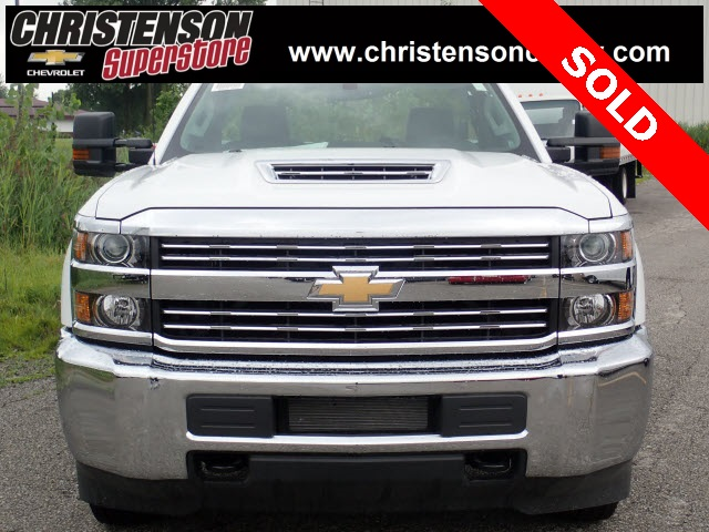 2018 Silverado 3500 Regular Cab DRW 4x4,  Monroe Service Body #81301 - photo 3
