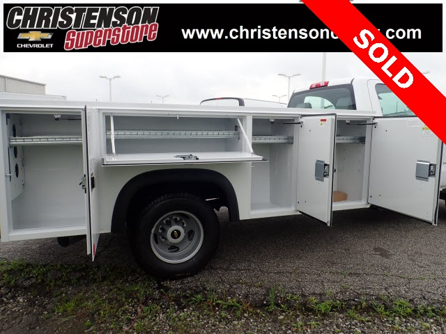 2018 Silverado 3500 Regular Cab DRW 4x4,  Monroe Service Body #81301 - photo 6