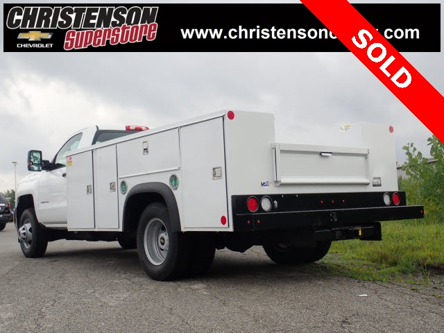 2018 Silverado 3500 Regular Cab DRW 4x4,  Monroe Service Body #81301 - photo 2