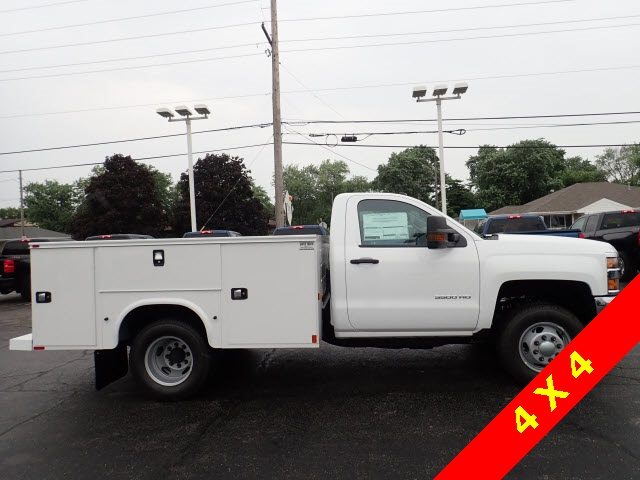 2019 Silverado 3500 Regular Cab DRW 4x4,  Knapheide Service Body #90035 - photo 5