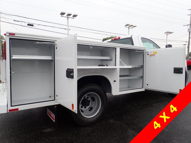 2019 Silverado 3500 Regular Cab DRW 4x4,  Knapheide Service Body #90035 - photo 6