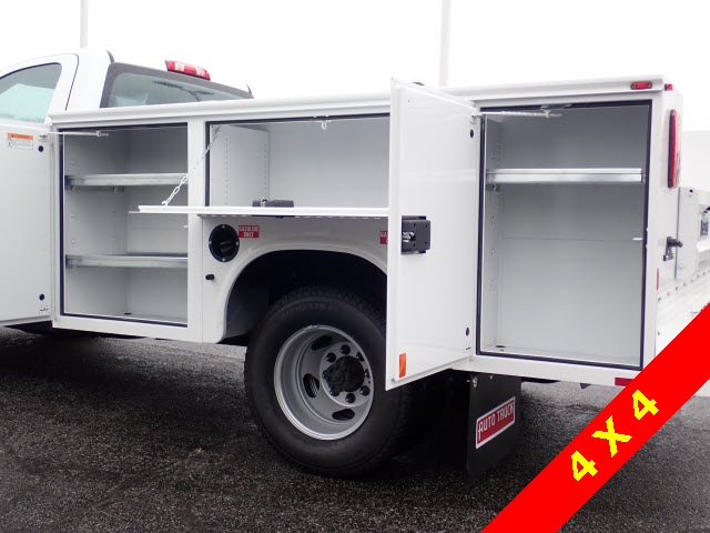 2019 Silverado 3500 Regular Cab DRW 4x4,  Knapheide Service Body #90035 - photo 8