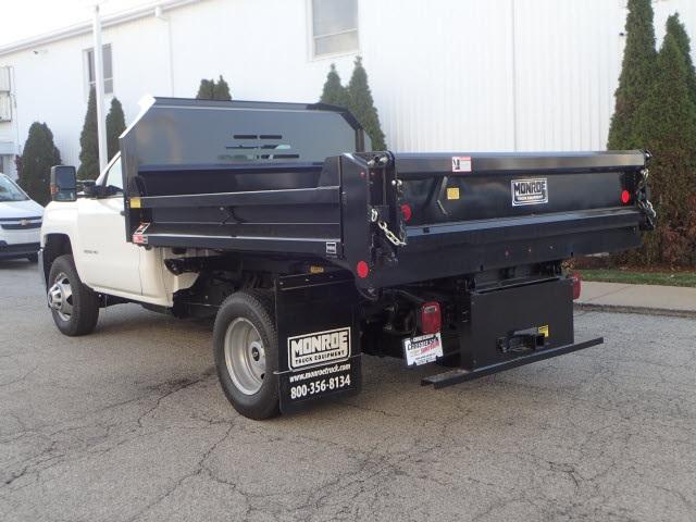2019 Silverado 3500 Regular Cab DRW 4x4,  Monroe Dump Body #90233 - photo 1
