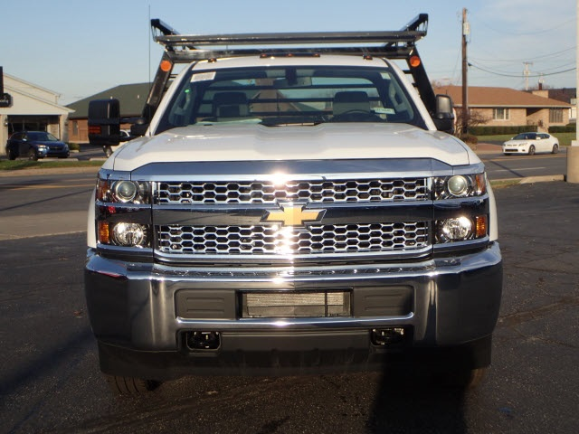 2019 Silverado 3500 Regular Cab DRW 4x4,  Freedom Contractor Body #90234 - photo 3