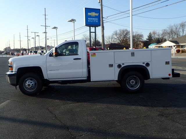 2019 Silverado 3500 Regular Cab DRW 4x4,  Monroe Service Body #90235 - photo 5