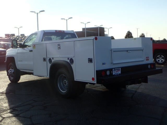 2019 Silverado 3500 Regular Cab DRW 4x4,  Monroe Service Body #90235 - photo 2