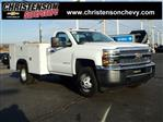 2019 Silverado 3500 Regular Cab DRW 4x4,  Monroe Service Body #90235 - photo 1