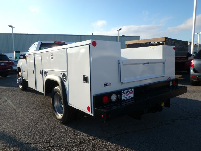 2019 Silverado 3500 Regular Cab DRW 4x2,  Monroe MSS II Service Body #90246 - photo 2