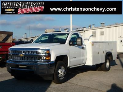 2019 Silverado 3500 Regular Cab DRW 4x2,  Monroe MSS II Service Body #90246 - photo 1