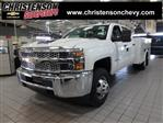 2019 Silverado 3500 Crew Cab DRW 4x4,  Reading Service Body #90312 - photo 1