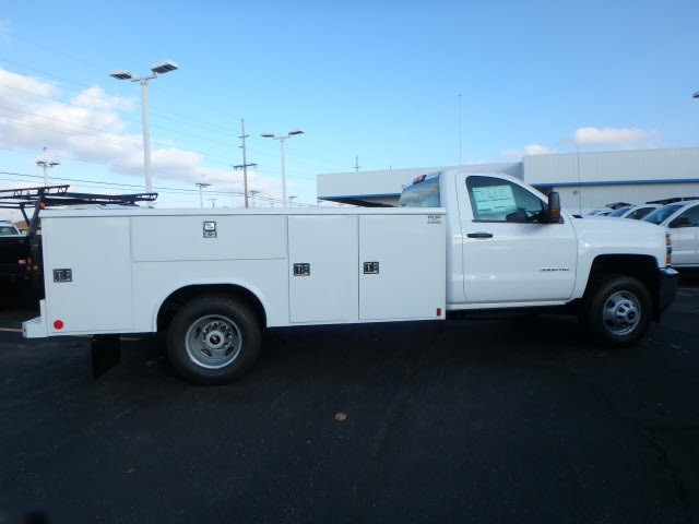 2019 Silverado 3500 Regular Cab DRW 4x4,  Reading Service Body #90331 - photo 2