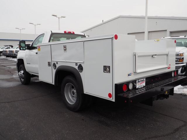 2019 Silverado 3500 Regular Cab DRW 4x4,  Monroe MSS II Service Body #90470 - photo 2