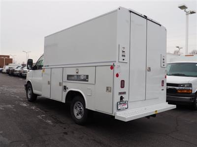 2019 Express 3500 4x2,  Reading Aluminum CSV Service Utility Van #90556 - photo 2