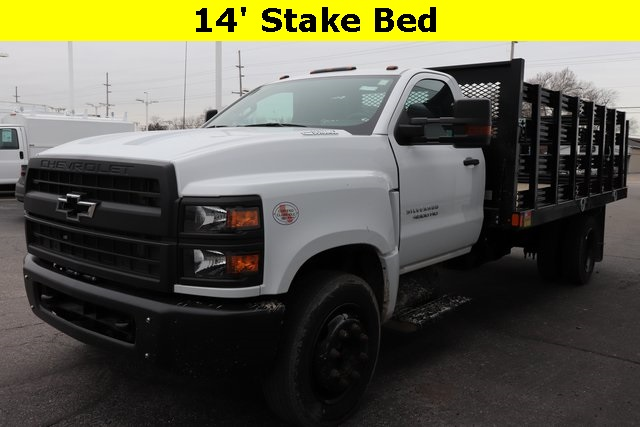 2019 Silverado Medium Duty DRW 4x2,  Cab Chassis #90740 - photo 4