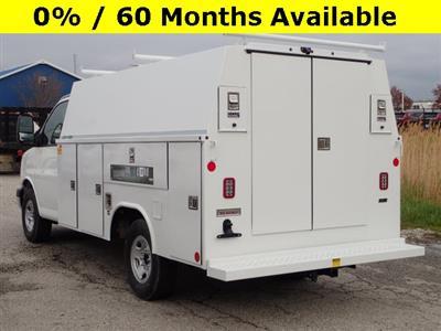 2019 Express 3500 4x2,  Reading Aluminum CSV Service Utility Van #90743 - photo 4