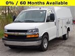 2019 Express 3500 4x2,  Reading Aluminum CSV Service Utility Van #90743 - photo 3