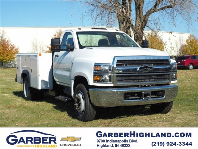 2019 Silverado 4500 Regular Cab DRW 4x2,  Monroe Service Body #90746 - photo 1