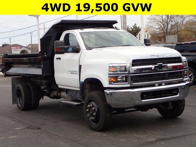 2019 Silverado 5500 Regular Cab DRW 4x4,  Knapheide Dump Body #90757 - photo 1