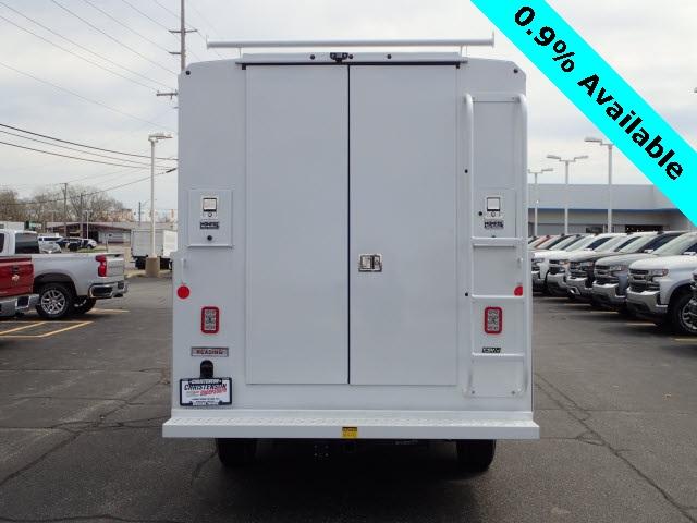 2019 Express 3500 4x2,  Reading Aluminum CSV Service Utility Van #90766 - photo 6