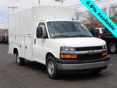 2019 Express 3500 4x2,  Reading Aluminum CSV Service Utility Van #90766 - photo 1