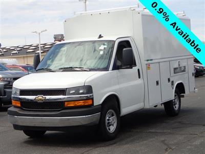2019 Express 3500 4x2,  Reading Aluminum CSV Service Utility Van #90766 - photo 4