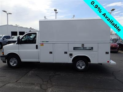 2019 Express 3500 4x2,  Reading Aluminum CSV Service Utility Van #90766 - photo 5