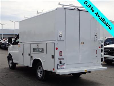 2019 Express 3500 4x2,  Reading Aluminum CSV Service Utility Van #90766 - photo 2