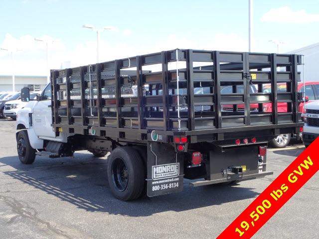 2019 Silverado 5500 Regular Cab DRW 4x2,  Monroe Versa-Line Stake Body Stake Bed #90957 - photo 4