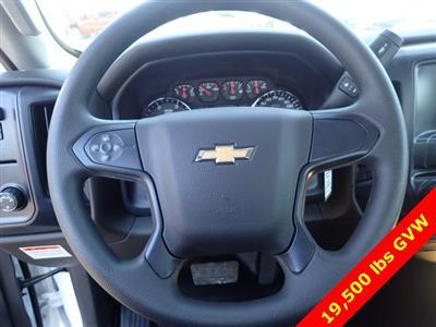 2019 Silverado 5500 Regular Cab DRW 4x2,  Monroe Versa-Line Stake Body Stake Bed #90957 - photo 10